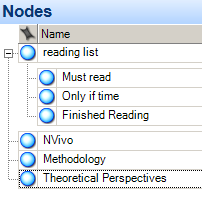 Nodes - reading list
